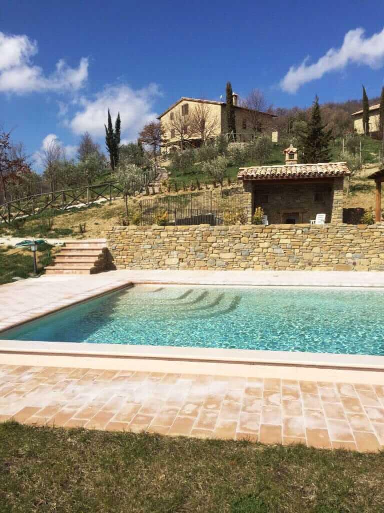 Assisi Maggio 2019 - Immagine del bosco